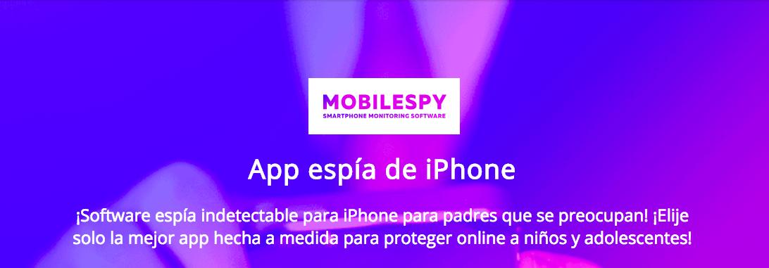 aplicación espía de iPhone
