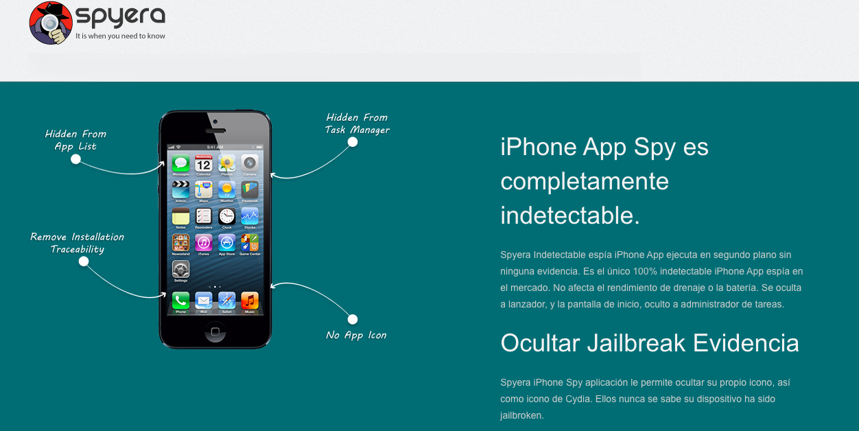 Espiar iPhone sin Jailbreak