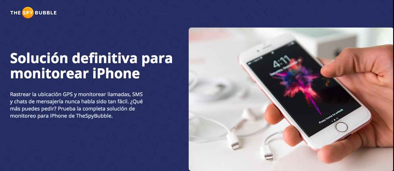 aplicaciones espía para iPhone