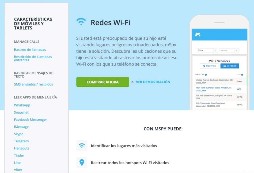 Espiar movil por WiFi